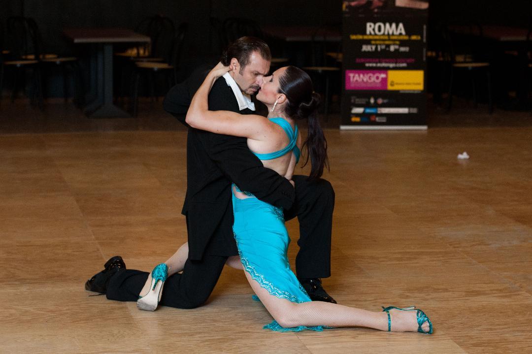 SEMIFINALIST al Campionatul European de Tango Argentinian