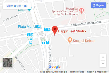 Harta HappyFeet Studio