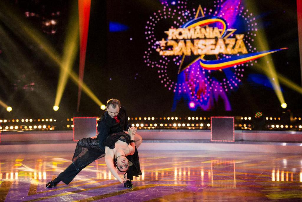 Finalist al concursului România Dansează